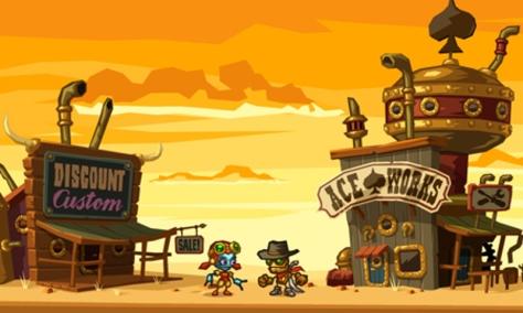 SteamWorld Dig - Nintendo 3DS - Character