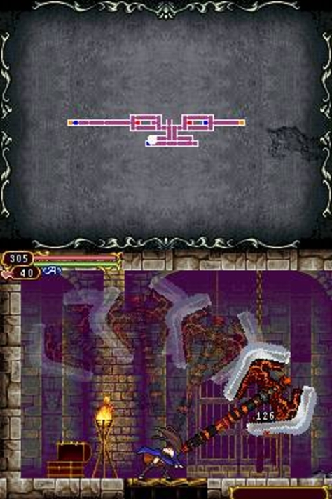 Castlevania Order of Ecclesia - Nintendo DS - Axe