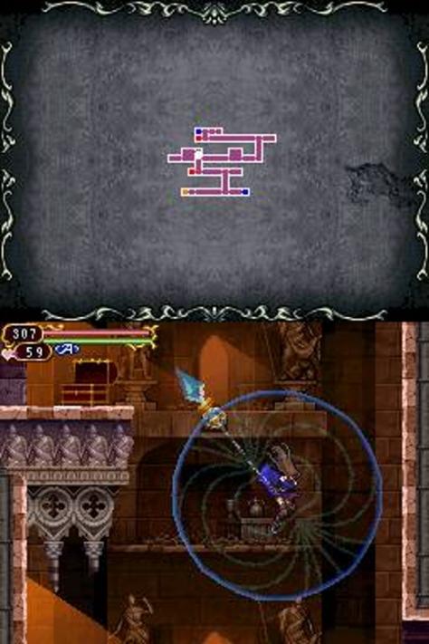 Castlevania Order of Ecclesia - Nintendo DS - Magnes