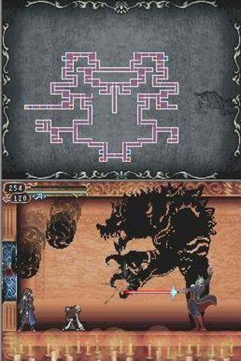 Castlevania Order of Ecclesia - Nintendo DS - What Lurks in the Shadows