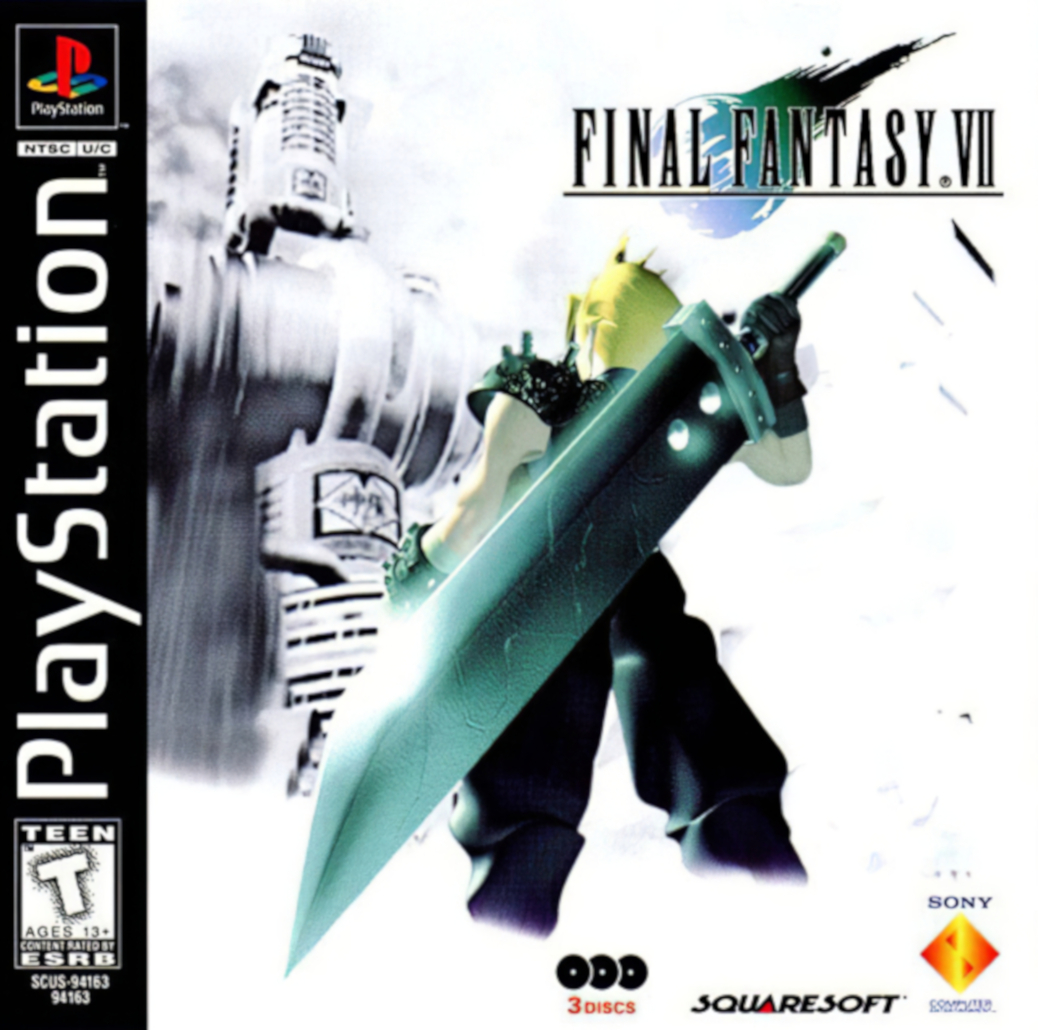 Final Fantasy VII - PlayStation - North American Box Art
