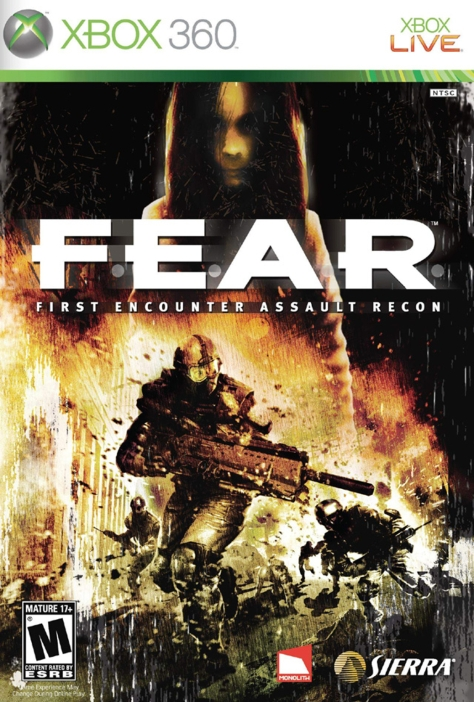 F.E.A.R. - Xbox 360 - North American Box Art