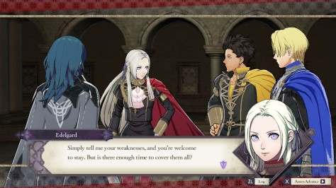 Fire Emblem Three Houses - Switch - Dialogue
