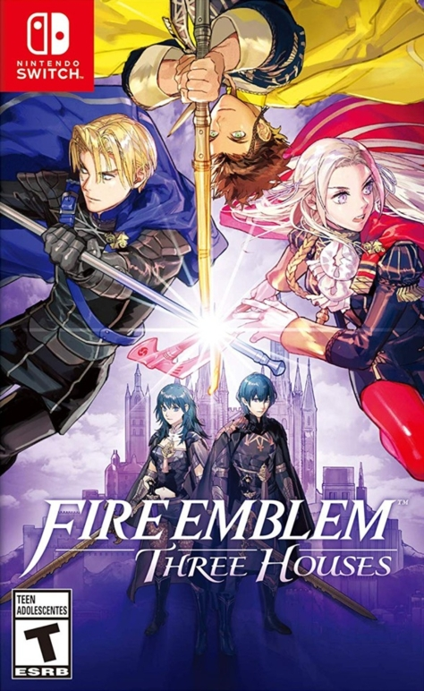 Fire Emblem Three Houses - Switch - North American Box Art
