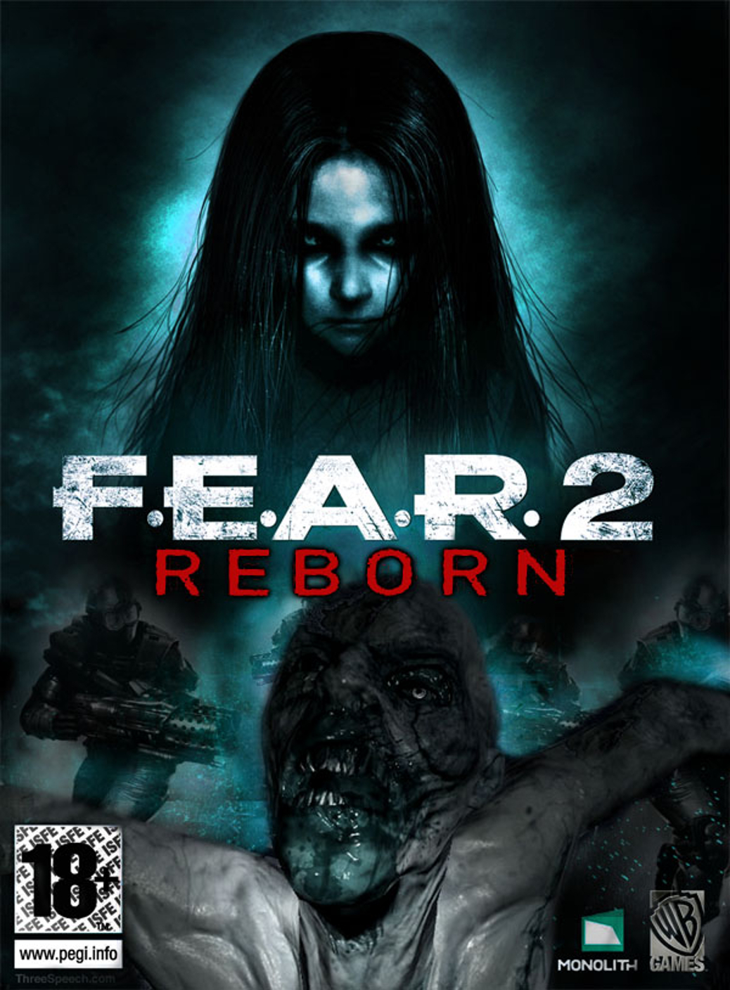 F.E.A.R. 2 Reborn - PC - European Box Art
