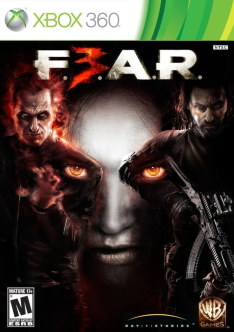 F.E.A.R. 3 - Xbox 360 - North American Box Art