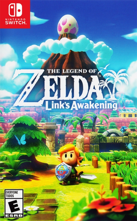 The Legend of Zelda Link's Awakening - Switch - North American Box Art