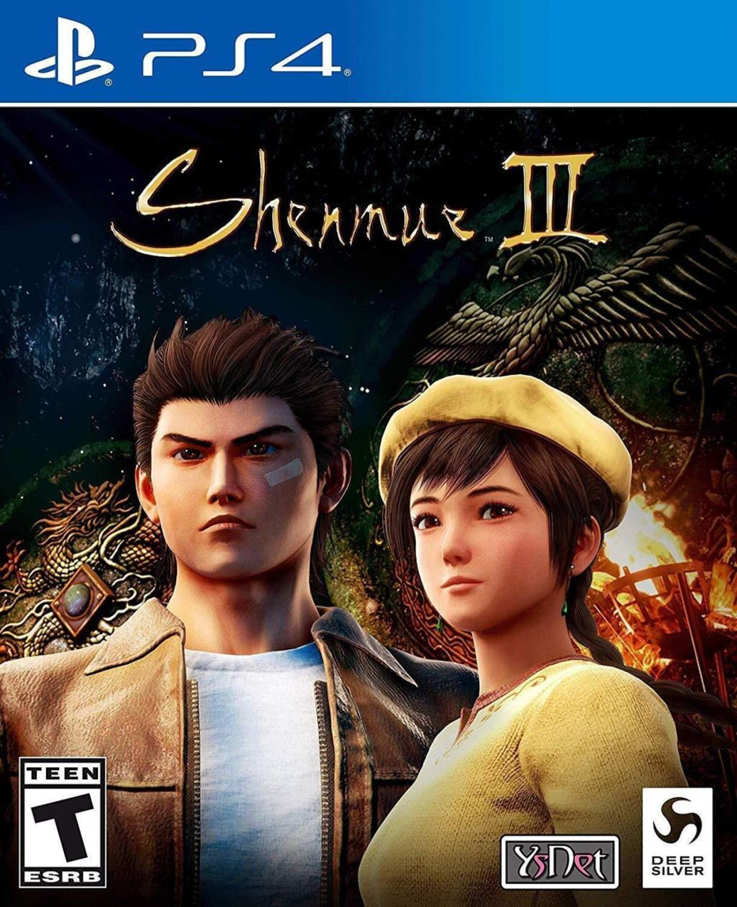 Shenmue III - PlayStation 4 - North American Box Art