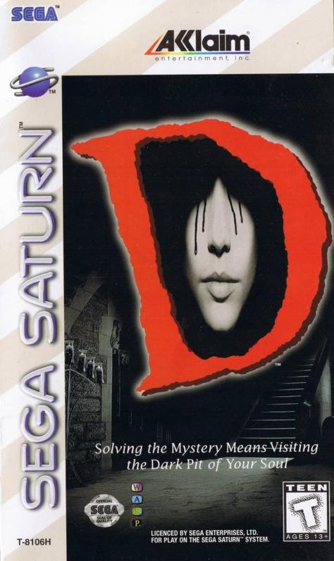 D - Sega Saturn - North American Box Art