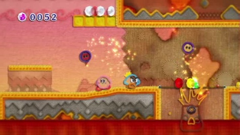 Kirby's Epic Yarn - Wii - Co-op