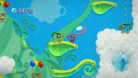 Kirby's Epic Yarn - Wii - Colorful