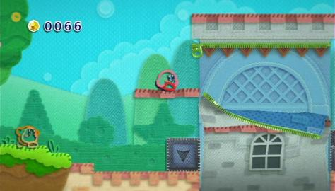 Kirby's Epic Yarn - Wii - Interact