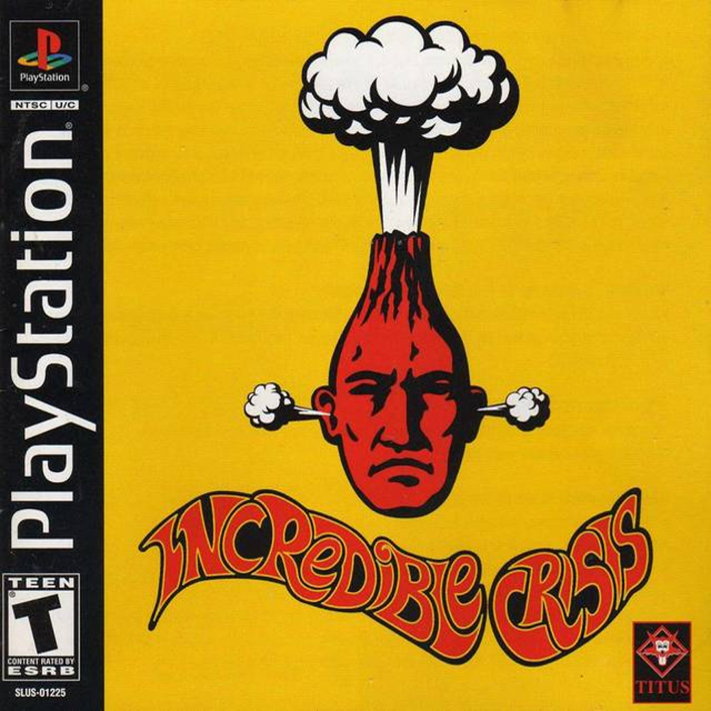 Incredible Crisis - PlayStation - North American Box Art