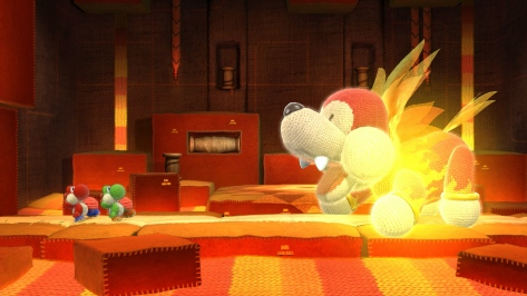 Yoshi's Woolly World - Wii U - Boss Fights