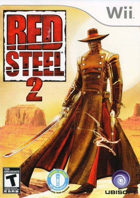 Red Steel 2 - Wii - North American Box Art