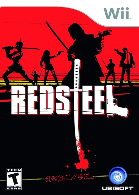 Red Steel - Wii - North American Box Art