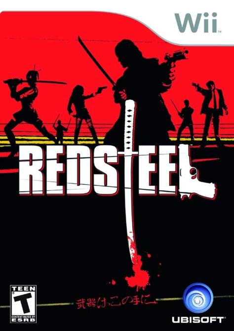 Red Steel - Wii - North American Box Art