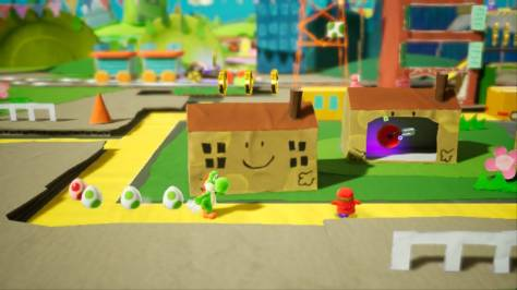 Yoshi's Crafted World - Switch - Paths